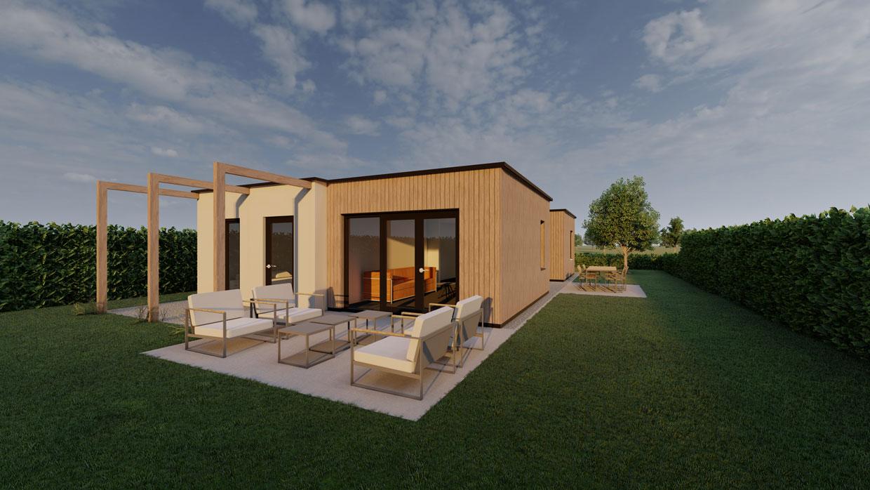 Studio voor Bouwkunst - Moderne kubistische levensloopbestendige bungalow - Stadshagen, Zwolle