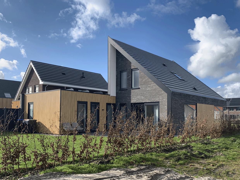 Studio voor Bouwkunst - moderne levensloopbestendige woning in steen en hout - Broeklanden, Nieuwveense Landen, Meppel