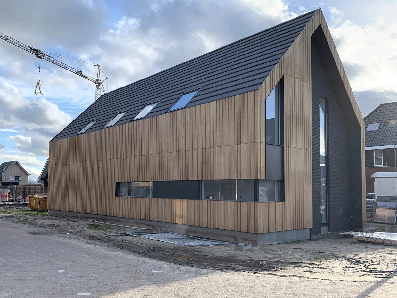 Studio voor Bouwkunst - moderne schuurwoning met vide - Broeklanden, Nieuwveense Landen, Meppel